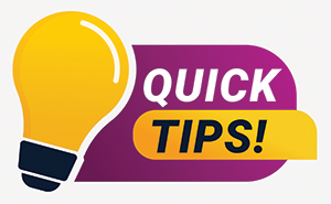 6 quick tips